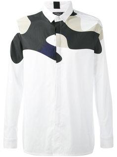 рубашка с камуфляжным принтом Var/City