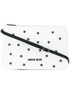 сумка через плечо с заклепками-звездами Armani Jeans