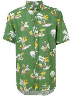 рубашка с принтом Drumohr