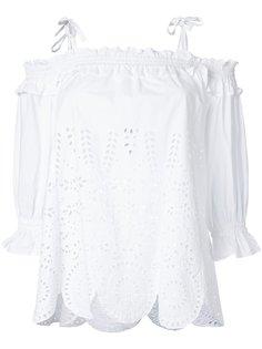 блузка с открытыми плечами Muveil