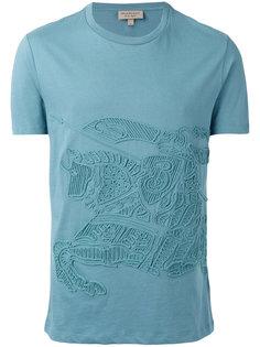 футболка с вышивкой  Burberry