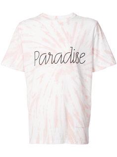 футболка Paradiseс размытым рисунком  Ovadia & Sons