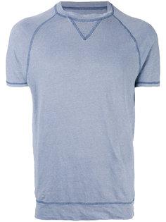 футболка с контрастной строчкой Majestic Filatures