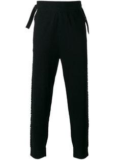 брюки с заниженным шаговым швом Helmut Lang