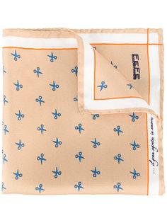 printed pocket square  Fefè