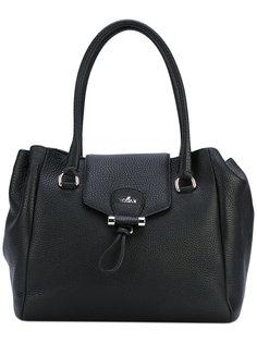 сумка-тоут с бляшкой с логотипом Hogan