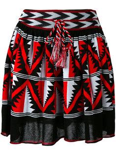 юбка А-образного силуэта в технике интарсия Laneus