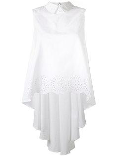 блузка с воротником и отделкой фестонами Mes Demoiselles