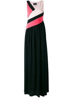 вечернее платье в стиле колор-блок Marco Bologna