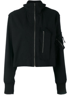 куртка на молнии с высоким воротником Damir Doma