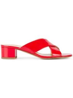 сандалии с перекрещивающимися ремешками Maryam Nassir Zadeh