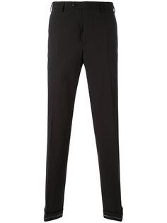 брюки узкого кроя с карманами Brioni
