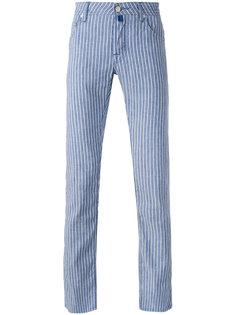 полосатые брюки Jacob Cohen