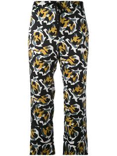 укороченные брюки с абстрактным принтом LAutre Chose