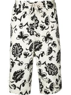 printed bermuda shorts Junya Watanabe Comme Des Garçons Man