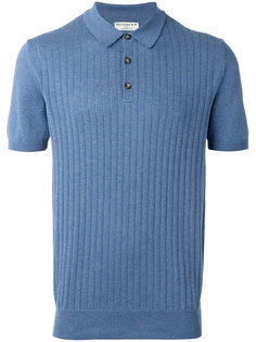 ribbed knit polo shirt Éditions M.R