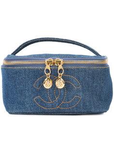 джинсовая косметичка Chanel Vintage