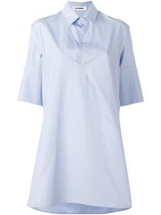 рубашка свободного кроя Jil Sander