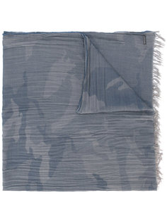шарф с камуфляжным принтом Woolrich