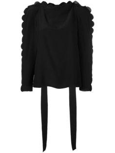 блузка с фестонами Fendi