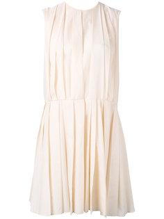 приталенное плиссированное платье Marni