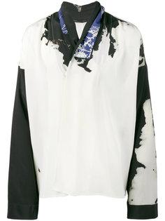 рубашка-кимоно с выцветшим принтом  Haider Ackermann
