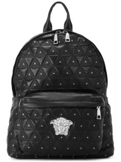 стеганый рюкзак Medusa Versace
