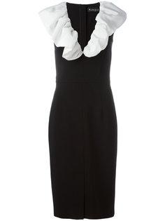 ruffled neck dress Rossella Jardini