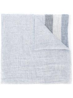 шарф с полосатыми панелями Fay