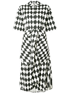 платье-рубашка в ромб Tome