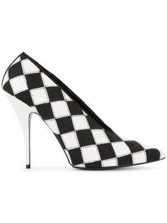 туфли с заостренным носком в клетку Stella McCartney
