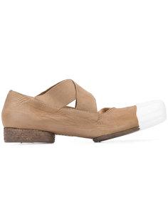 contrast toe ballerinas Uma Wang
