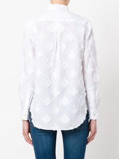 рубашка на пуговицах с нашивками Xacus