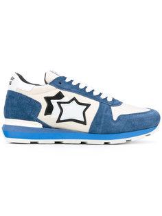 кроссовки с заплатками в форме звезд Atlantic Stars