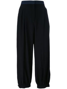 укороченные брюки свободного кроя Fendi