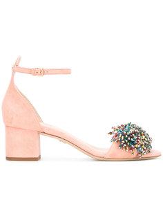 bead embellished sandals  Elie Saab