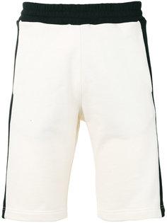 спортивные шорты с полосами по бокам MSGM