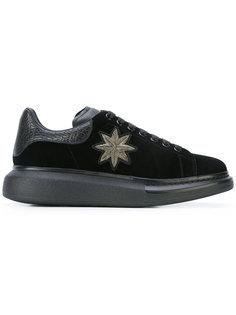 кроссовки с выступающей подошвой Alexander McQueen