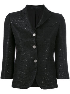 укороченный приталенный пиджак  Tagliatore