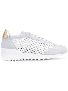 braided net sneakers Casadei