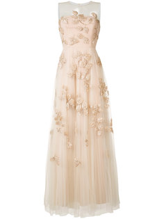 embroidered tulle gown Carolina Herrera