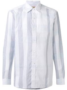 полосатая рубашка Burberry