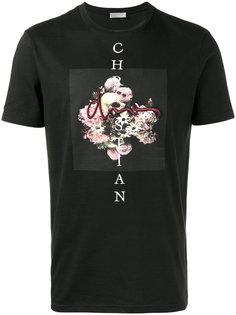 футболка с цветочным принтом Dior Homme