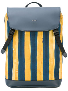 watercolour striped backpack Fendi