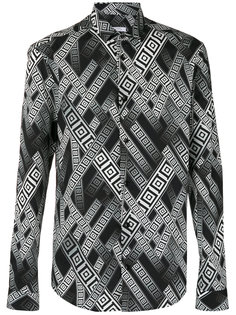 printed shirt Versace Collection