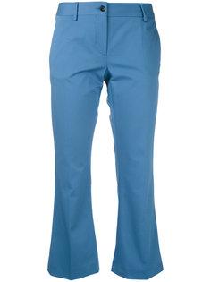 укороченные расклешенные брюки Alberto Biani