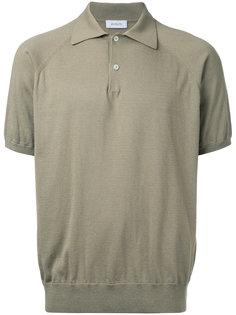 slim-fit polo shirt En Route