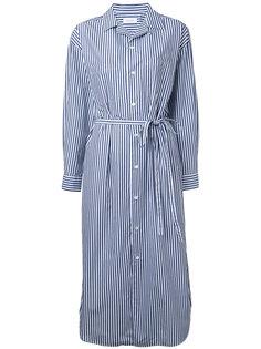 striped midi shirt dress En Route