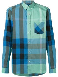 рубашка в клетку на пуговицах Burberry