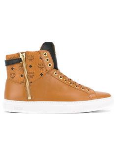 lace up boots  MCM